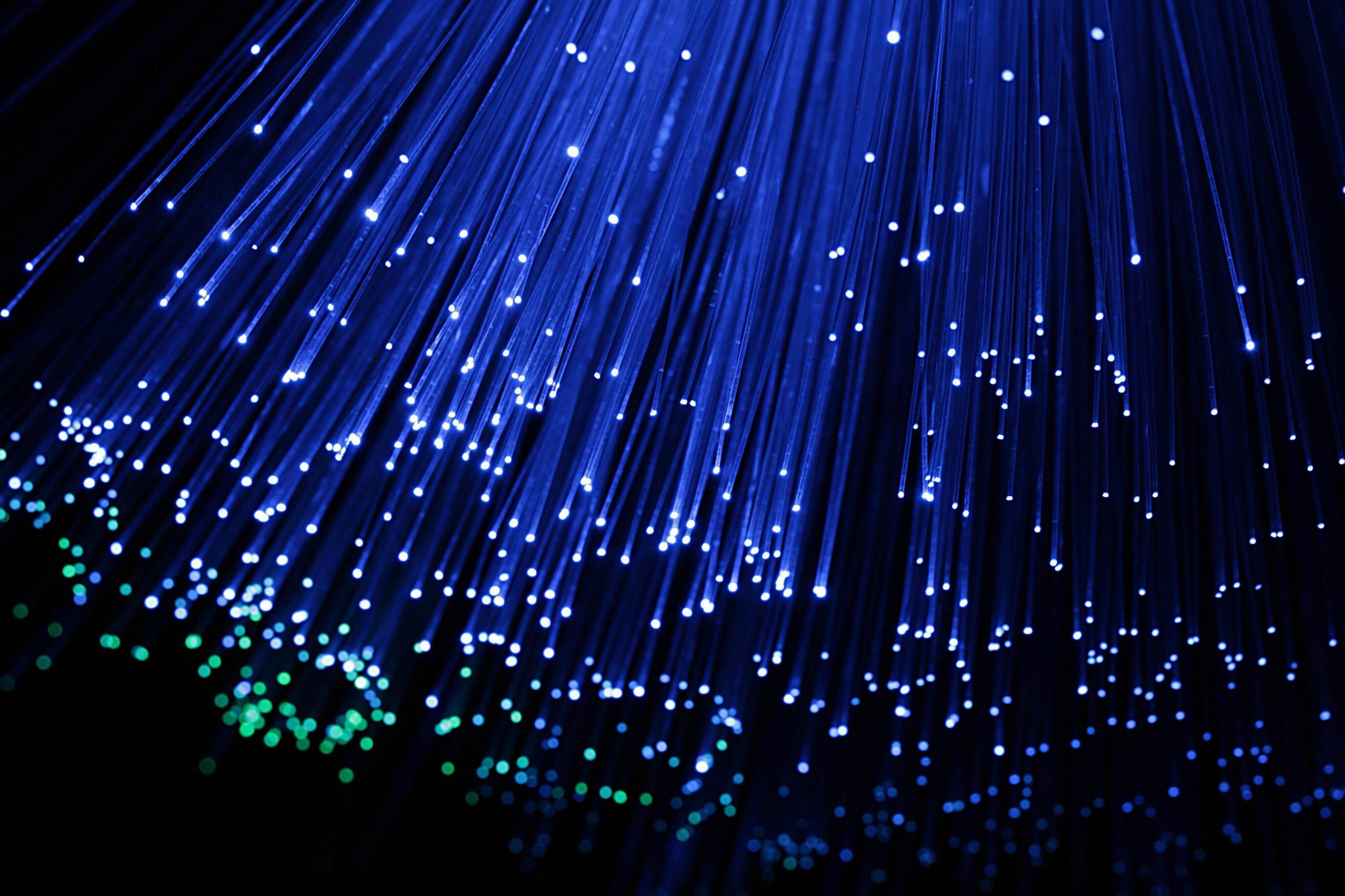 fiber optics in water