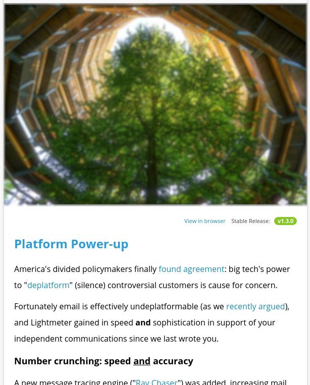 Lightmeter February 2021 newsletter